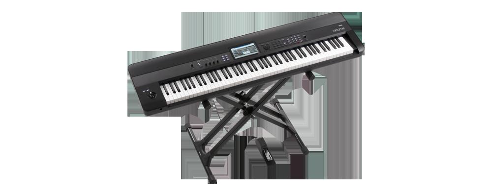 keyboard workstation music midi korg krome. Black Bedroom Furniture Sets. Home Design Ideas