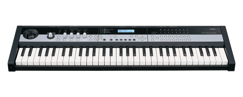 micro keyboard workstation music midi korg microstation. Black Bedroom Furniture Sets. Home Design Ideas